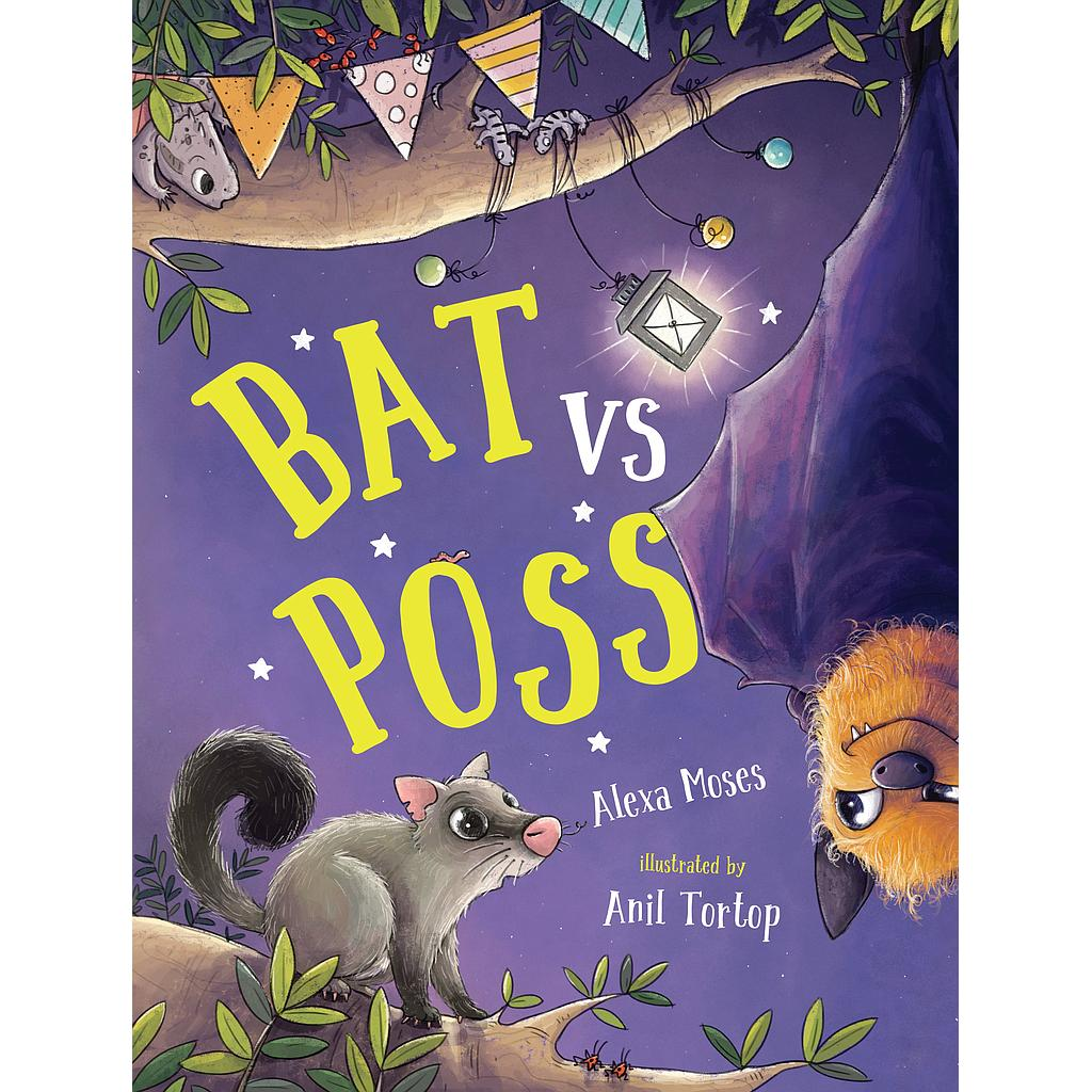 Bat vs Poss (hardback)