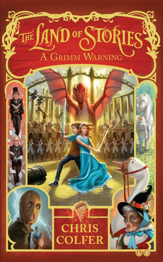A Grimm Warning: The Land of Stories # 3